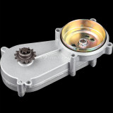 11T 14T 17T 20T Transmission Clutch Gear Reduction Box For 47cc 49cc 2 Stroke Pocket Mini Dirt Pit Bike Scooter ATV TaoTao Buyang Coolsport Kazuma Sunl Roketa - Silver