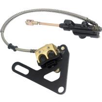 15MM Rear Hydraulic Brake Cylinder Caliper For 50CC-125CC XR50 CRF50 Dirt Pit Bike Motorcycle