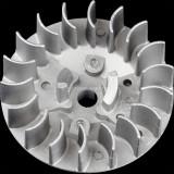 18-Fin Recoil Pull Starter Flywheel for 2 Stroke 47cc 49cc Mini Pocket Bike Super Bike Mini Quad Mini Moto Pit Dirt ATV