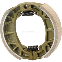 CG125 105mm Brake Shoes Water Grooved Front or Rear For Honda Z50 Z50R Z50J QA50 QA C CL CT70 CT70H GY6 Scooter Moped Motorcycle Bike