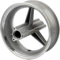 Aluminum Rear Wheel 110/50-6.5 Hub for 47cc 49cc Mini Moto Pocket Bike Motorcycle Silver