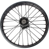 12mm 15mm hole hub 1.60 x 17 front Iron Wheel Rim For tires 70/100-17 Compatible CRF70 KLX BBR 50-160CC Pit Dirt Bike Taotao DB17 Extreme Roketa SunL JetMoto Kazuma
