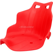 Plastic Seat Cushion For Mini Karting Children Kids' Three Wheel Bike Electric Scooter Go Kart Bicycle Motorcycle - Red