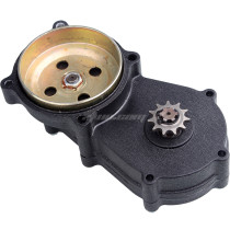 Double Chain Transmission Clutch Drum Gear Reduction Box For 47cc 49cc 2 Stroke Pocket Mini Dirt Pit Bike Scooter ATV TaoTao Buyang Coolsport Kazuma Sunl Roketa