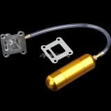 Intake Manifold WT Power Boost Bottle Fit For 43cc 50cc 60cc 80cc 2 Stroke Engine Motorized Bicycle Bike Mini Moto ATV Quad Pocket Pit Dirt Bike - Gold