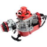 49cc Manual Racing Engine Red For Mini Pocket Mini Moto Motorbike Air Cooled ATV Dirt Bike Quad