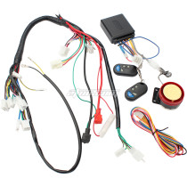 Wiring Harness Start Switch Coil Loom Remote Speaker 50cc 70cc 90cc 110cc 125cc Quad ATV 4 Wheel Pit Dirt Bike