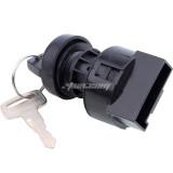 6 Pin Ignition Key Switch for Polaris Sportsman 400 500 600 700 800 Ranger 500 700 900 1000 XP Diesel RZR 800 900 1000 Turbo Brutus General 1000 Polaris 325 330 Magnum 250 Trail Blazer Predator