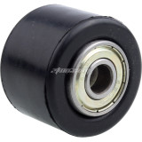 Black 8mm or 10mm Chain Roller Slider Tensioner Wheel Guide For 50-300cc Pit Dirt Mini Bike ATV Quad 4 Wheel Motorcycle