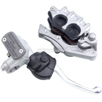 Front Brake Caliper Master Cylinder W/Pads Fits Honda CR125R 250R /CRF150F 230F 250R 250X 450R/ XR250R 400R 600R 650L 650R