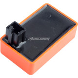 High Performance DC 4 Pin CDI Box Fit for most 50cc 70cc 90cc 110cc Scooter ATV DY100 Motorcycle - Orange