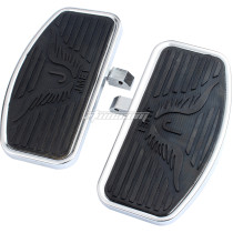 Motorcycle Floorboards Foot Pegs For Honda VTX 1300 VTX 1800 Suzuki VL400 VL800 C50 Footboard Front/Passenger Pair