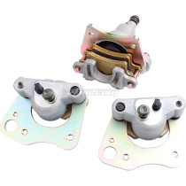 Front And Rear Brake Calipers With Pads For Polaris Ranger 500 700 EFI LE XP TM 2005-2007 ATV Motorcycle