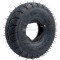 4.10/3.50-4 Tires with Inner Tube For Garden Rototiller Snow Blower Mowers Hand Truck Wheelbarrow Go Cart Kid ATV Generators Yard Trailers