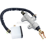 Rear Foot Brake Master Cylinder Pump With Reservoir For CFMOTO CF150-A-C-2A-2C ATV Pit Dirt Bike Motorcycle