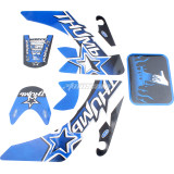 Sticker Decal Graphics Fairing Kit for CRF50 CRF50 50-110CC Pit PRO Dirt Bike Thumpstar SSR Motorcycle
