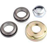 Fork Neck Steering Head Stem & Bearings set for CRF50 XR50 Apollo 50cc 70cc 90cc 110cc 125cc Pit Dirt Bikes Motorcycle Parts