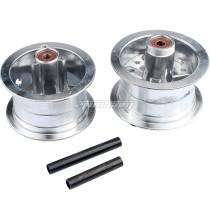 4.10-4 3.00-4 4.10/3.50-4 Rear & Front Aluminum Wheel Hub For 47-49CC Go Kart Kid ATV 4 Wheel Quad Electric Motorcyle
