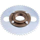 T8F 34mm Rear Wheel Freewheel Clutch Right Side Freewheel 4 Bolt With Sprocket For Electric Scooter Bicycle Pocket Pit Dirt Bike ATV Parts
