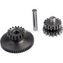 17T Engine Starter Reduction Gear Kit Fit for Motorcycle 150CC 200CC 250CC CG125 CG200 CG250 ATV Quad 4 Wheel