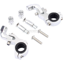 NEW 22/28mm 1 1/8 inch OR 7/8 inch Brush Handguards Clamp Mounting Mount Kit For Pit Dirt Bike ATV Quad Motorcycle Parts