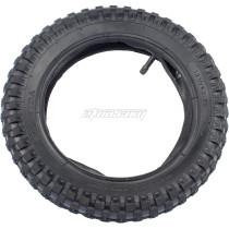 12.5x2.75 (12-1/2x2.75) Tire & Inner Tube Set for Razor MX350 MX400 Dirt Rocket X-Treme X-560 - Heavy Duty Scooter Tire Tube for Mini Pocket Bikes