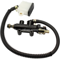 Rear Foot Brake Master Cylinder Pump With Reservoir For Chinese 125-250CC Galaxy Motorcycle