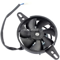 Motorcycle Radiator Fan Electric Cooling Thermal Fan Motor 12V for Chinese 150cc 200cc 250cc Quad ATV 4 Wheeler Go Kart Dirt Pit Bike UTV