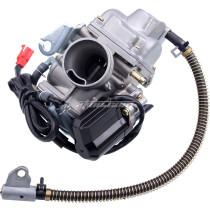 PD24J Carburetor 150CC for GY6 125cc 150cc 152QMI 157QMJ Engine Based ATV Scooter Go Kart - NEW