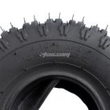 4.10-4 Tires with Inner Tube For Garden Rototiller Snow Blower Mowers Hand Truck Wheelbarrow Go kart Kid ATV Generators Yard Trailers NEW