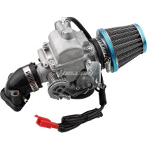 Carburetor for GY6 125cc 150cc 52QMJ 157QMI with Air Filter Intake Manifold 4 Stroke Electric Choke Motorcycle Scooter Carb