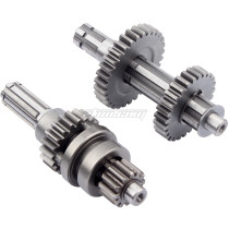 Reverse Gears Main Countershaft Transmission Gearbox Counter Shaft Fit For 50cc-110cc 1+1 Engines ATV QUAD BUGGY 4 Wheel Parts