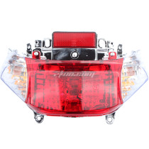 12V Motorcycle Turn Signal Light Rear Tail Lamp For GY6 50CC Scooter Shenke Chuanl Taotao Sunny SSR Ice Bear Scooter Moped