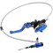 22mm (7/8in ) Blue 900mm Line Hydraulic Clutch Handle Lever Master Cylinder For 125-250CC Pit Dirt Bike ATV Motocross Motorcycle NEW