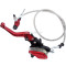 22mm (7/8in ) Red 900mm Line Hydraulic Clutch Handle Lever Master Cylinder For 125-250CC Pit Dirt Bike ATV Motocross Motorcycle NEW