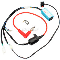 Wiring Loom Coil CDI Kick Start For 70cc 90cc 110cc 125cc 140cc Dirt Bike Moped Scooter ATV Motorcycle Parts
