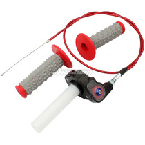 22mm 7/8 inch Throttle Housing Handlebar Grip Twist Cable For 50-250CC CRF/XR BBR TTR ATV Pit Dirt Bike 4 Wheel Motorcycle Parts