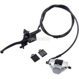 Rear Hand Hydraulic Disc Brake Master Cylinder Caliper Assembly With brake pad Fit for 125cc 150cc 250cc Quad Dirt Bike ATV Dune Buggy