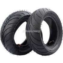 Top Quality Tires Front Rear Tire + Inner 110/50/6.5 or 90/65/6.5 Front Rear 47cc 49cc Mini Pocket Bike Mini Dirt Bike ATV Scooter