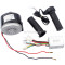24v 300w Brushed Speed Motor and Controller Throttle Grip Set for E Bike Scooter Motorcycle Parts