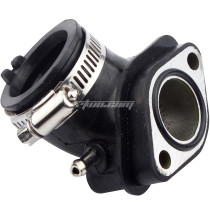 NEW GY6 125cc 150cc Carburetor Intake Manifold Pipe for 152QMI 157QMJ Engine Chinese Scooter Moped ATV Go-Kart