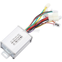 Motorcycle Speed Controller 24V 300W Replacement for Electric Scooter E Bike Bicycle Tricycle Brush