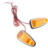 1 Pair 12V LED Turn Signal Brake Light Tail Light For Chinese 50cc 70cc 90cc 110cc 125cc 150cc Taotao Sunl ATV Quad 4 Wheel Motorcycle