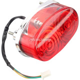 3 Wires Rear Tail Lights for Kids Chinese ATV 125cc 150 200 250cc Chinese TaoTao Roketa SunL JCL Coolster 3125 3125B 3125R Quad 4 Wheeler