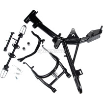 Foot Pegs Kickstand Swingarm Frame Assembly for Honda CRF50 XR50 Pit Dirt Bike Motorcycle Parts