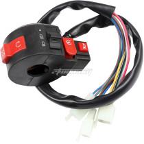 Left Kill Light Horn Starter Switch 10 Pin For Coolster Taotao SunL Peace Eagle 50cc 70cc 90cc 110cc 125cc 150cc Chinese ATVs Quad 4 Wheelers Parts