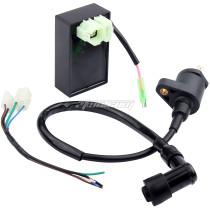 CDI Box & Ignition Coil For HONDA TRX90 TRX 90 TRX-90 1997 1998 1999 2000 2001 2002 2003 2004 2005 2006 ATV   OEM Repl.# 30410-HF7-000 30410-HF7-008