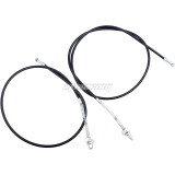 Front and Rear Brake Cable for Y-Zinger 50 PW50 PY50 Front Drum Brake Cable Motorcycle