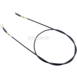 Throttle Accelerator Cable 67 1/2  Long for Yamaha G14 G16 G22 Gas Golf Carts Motorcycle Parts