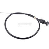 Choke Throttle Cable Compatible for Yamaha PW50 Y-Zinger PEEWEE 50 Yzinger Mini Dirt Bike Motorcycle